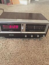 OLD Vintage Zenith Solid State Clock Radio - TESTED!!