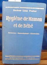 POULIO HYGIENE DE MAMAN ET DE BEBE grossesse accouchement allaitement...