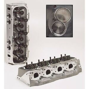 Brodix 2061001 Race-Rite Oval Port Assembled Cylinder Head, For Big Block Chevy