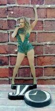"JENNIFER LOPEZ DISPLAY 8"" STANDEE J.LO Figure Statue Cutout Toy Standup Doll dvd"