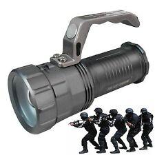 TORCIA TATTICA LUCE BIANCA CREE R5 LED 38000W LAMPADA PORTATILE RICARICABILE *L*