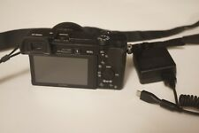Mint Sony Alpha a6000 24MP Digital Camera Black (Kit w/ E PZ OSS 16-50mm Lens)
