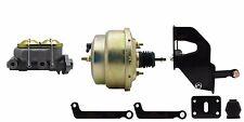 "Mopar 7"" dual power brake booster & master cylinder with firewall brackets"