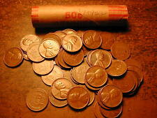 1949-S LINCOLN WHEAT CENT PENNY ROLL, nice condition