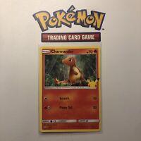 Pokemon Charmander 9/25 non holo 25th Anniversary Mcdonalds Promo 2021 Card