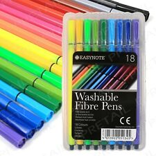 Adult Colouring Book Fibre Tip Pens Set Fine Detail Art Therapy Anti Stress Felt