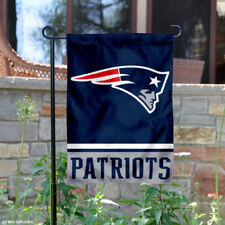 New England Patriots Garden Flag and Yard Banner