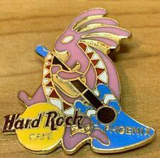 Hard Rock Cafe 1999 Pink Kokopelli Phoenix Collectors Pin