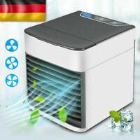 DE Mini Luftkühler Klimageräte Klimaanlage Air Cooler Fan mobile Befeuchter