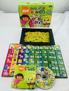 2006 Nick DVD Bingo by Mattel Complete in Great Condition FREE SHIPPING