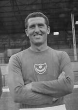 Old Large Portsmouth Fc Photo 1960s English Soccer Player Bobby Campbell
