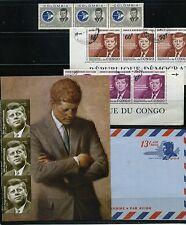 JOHN FITZGERALD KENNEDY-   1917- 1963  COLOMBIA- U.S. CONGO