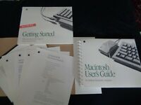 Sealed Set Vintage Apple Macintosh User's Guide for desktop computers 1993 RARE