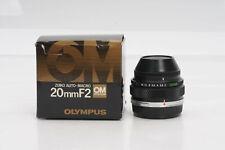 Olympus OM 20mm f2 Zuiko Auto-Macro Bellows Lens 20/2                       #814