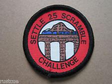 Settle 25 Scramble Challenge Walking Hiking Cloth Patch Badge