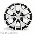4 New Chevy Silverado Avalanche Black Machined Face 20 Wheels Rims Lugs 5656