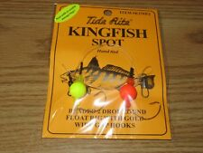 2 KINGFISH SPOT RIGS TIDE RITE R258 BEADED 2 DROP FLOAT SALTWATER RIG FISHING
