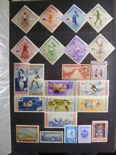 Dominican Republic old, valuable collection, including 2 MNH Olympics sets.