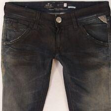 Damen Damen Replay WX600 Suzanne Stretch Skinny blue Jeans W28 L32 UK Größe 8