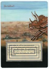 ***1x Scrubland*** MTG Revised Altered Art -Kid Icarus-