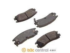PBR XBG - Semi-Metallic Brake Pad Set w/o Shims fits 1991-1999 Saturn SL2 SW2 SC
