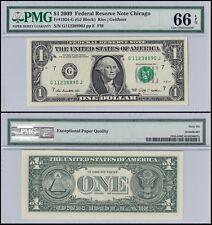 United States of America (USA) $1 Dollar, 2009, P-UNL, UNC, PMG 66 EPQ