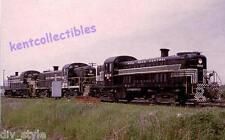 New York Central ALCO RS2 #8213 diesel locomotive railroad train postcard