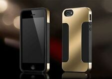 New Cover Case for iPhone5/5S/SE Hybrid Plated PC+Soft Silicon 2 layer Protect