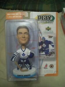 2001-02 Upper Deck Play Makers Bobble Head #2 Curtis Joseph Maple Leafs