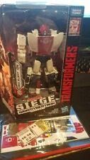 Used Transformers Siege War for Cybertron RED ALERT with toyhax reprolabel sheet
