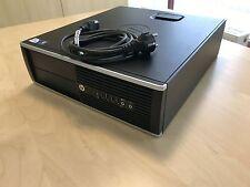 HP Compaq 6200 Pro SFF PC System Intel G 2x2.60GHz  4GBDDR3 RAM 250GB HDD Win 7