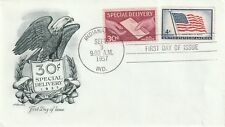 1957 USA FDC cover Special Delivery