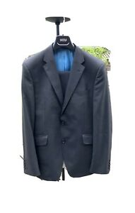 Marks & Spencer Charcoal Mens Wool 2 Piece Suit Chest 40