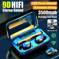 Bluetooth 5.0 Headset TWS Wireless Earphone Mini Earbuds Stereo Sport Headphones
