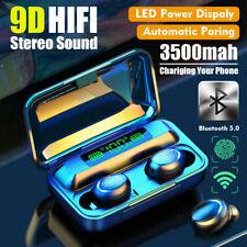 Auricular Bluetooth 5.0 Auriculares Estéreo Mini auricular inalámbrico TWS Auriculares Sport