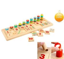 Autism Sensory Toys Educational Count and Match Numbers Set Special Needs Kids