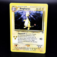 Ampharos Neo Genesis Holo 1/111 WoTC Rare Pokemon Card 2000 Near Mint NM