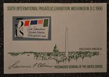 US1966  #1311 5c Sixth International Philatelic Exhibition Souvenir Sheet  SIPEX
