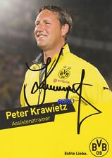 Peter KRAWIETZ + Borussia Dortmund + Saison 2013/2014 + Original Autogrammkarte