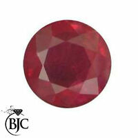 BJC® Loose Round Brilliant Cut Ruby Stones Amazing Deep Red Colour 1.50 - 6.00mm