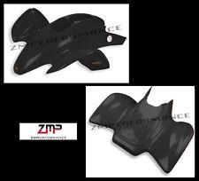 NEW HONDA TRX 300EX BLACK CUSTOM FRONT AND REAR FENDER SET PLASTICS