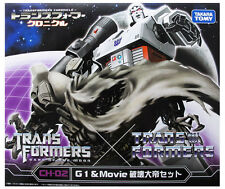 Takara Tomy Transformers Chronicle Megatron G1 & Movie Version CH-02 Japan AU