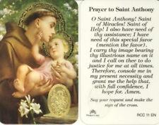 St. Anthony Prayer Card - Devotional Prayer