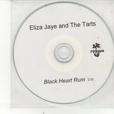 (EH434) Eliza Jaye & The Tarts, Black Heart Rum - DJ CD