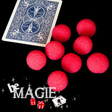 Balles mousse mini GOSHMAN - 1,7 cm - tour de magie - éponge
