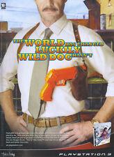 "Time Crisis 4 ""Playstation 3"" 2008 Magazine Advert #4630"