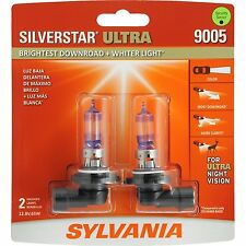 Sylvania Silverstar Ultra 9005SU/2 Headlight Bulbs - Pair