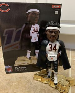 LIMITED Walter Payton NFL 100 Years bobblehead #59/100 Gold Base Chicago Bears