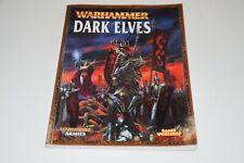 Warhammer Dark Elves Army Book