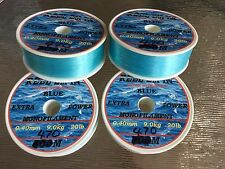 1880m Reel-em-in mono Fishing Line 20lb 4x 470 M Blue 0.45mm reels  D6511BX4
